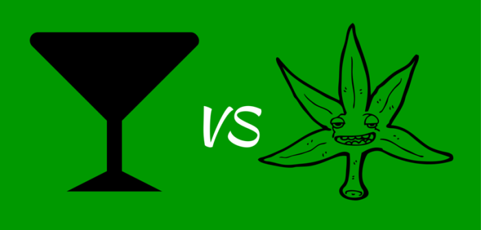 Greenito Find dispensaries and learn about Alcohol vs Marijuana