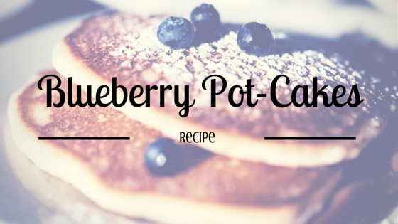 Greenito Blueberry Pot-Cakes Recipe