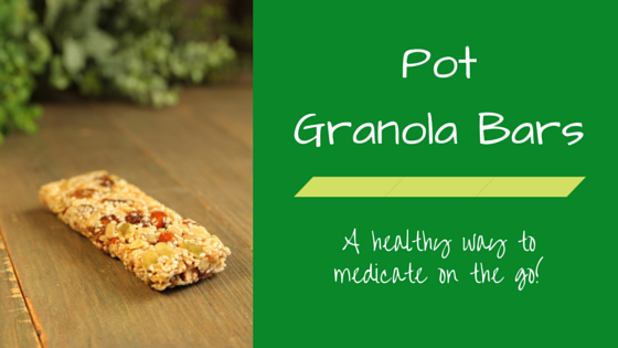Greenito Find Healthy Pot Granola Bar Recipes