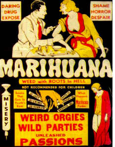 Greenito, Learn about the benefits of weed rather than the old days of reefer madness