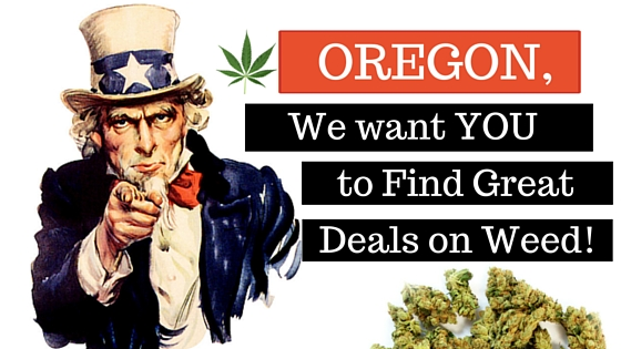 Where Can I Find Recreational Weed Deals in Oregon? Greenito