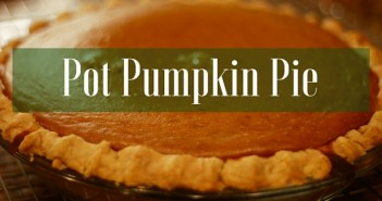 An Infused Thanksgiving Feast: Pot Pumpkin Pie Greenito