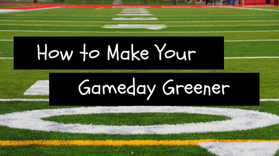How to Make Your Gameday Greener Greenito