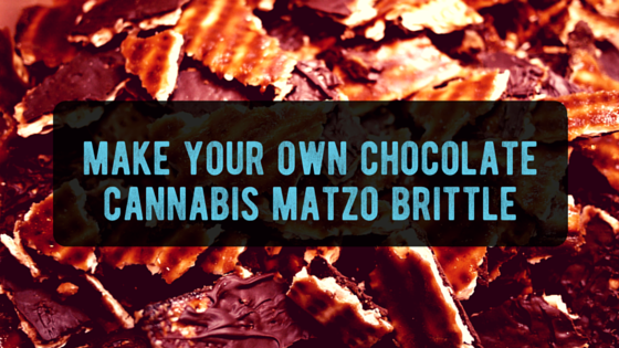 Chocolate Cannabis Matzo Brittle Post