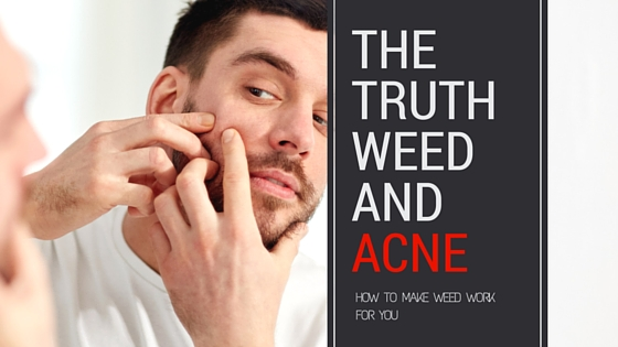 smoking weed and acne